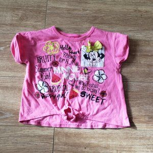 Minnie Mouse Crop Top